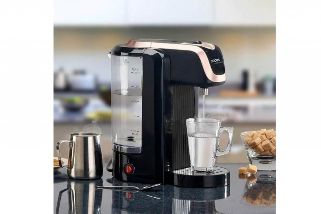 image of hot water machine